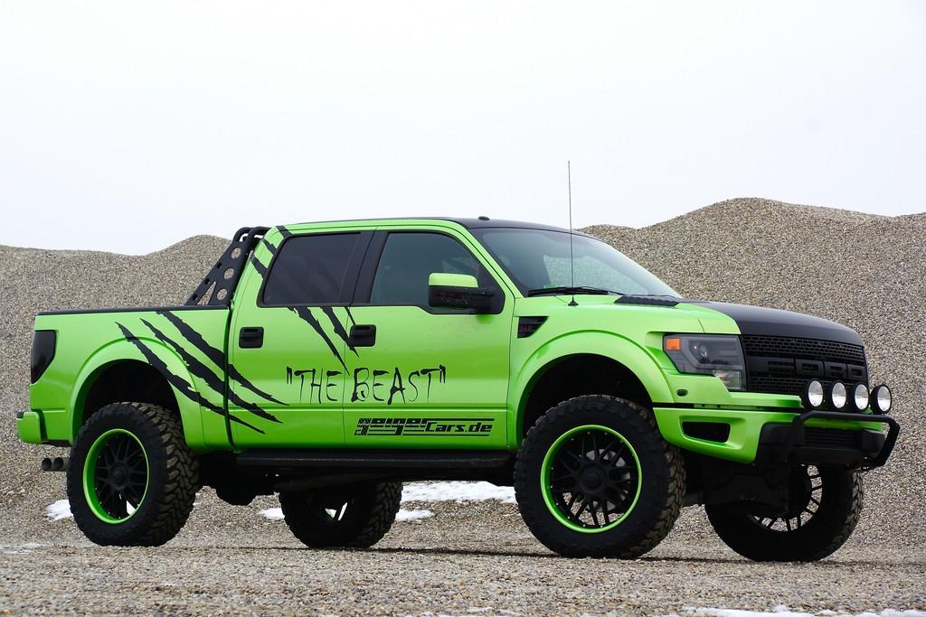 Foto vom Außendesign des Geigercars Ford F-150 SVT Raptor