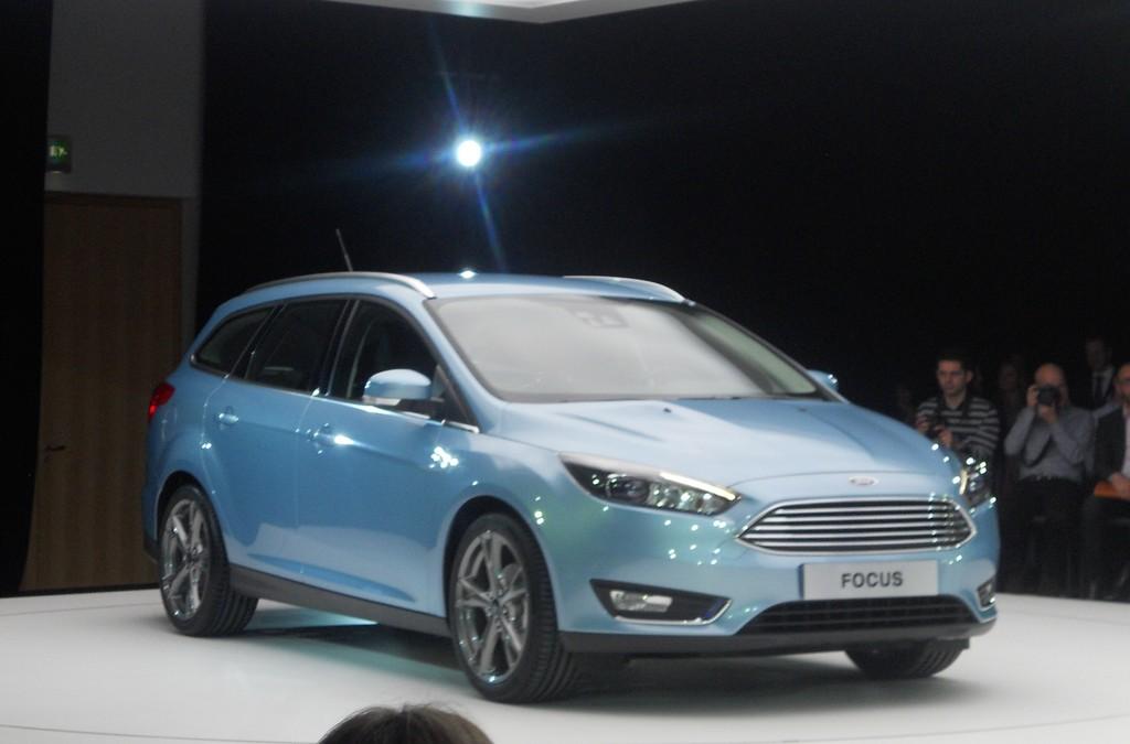 Der Überarbeitete Ford Focus Turnier auf dem Mobile World Congress in Barcelona
