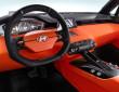 Das Cockpit des Konzeptfahrzeuges Hyundai Intrado