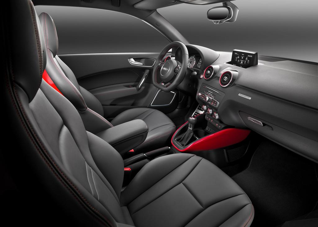 Sport-Kleinwagen Audi S1 von Innen
