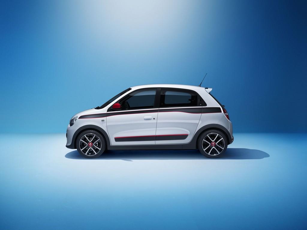 Die Seitenpartie des neuen Renault Twingo 2014
