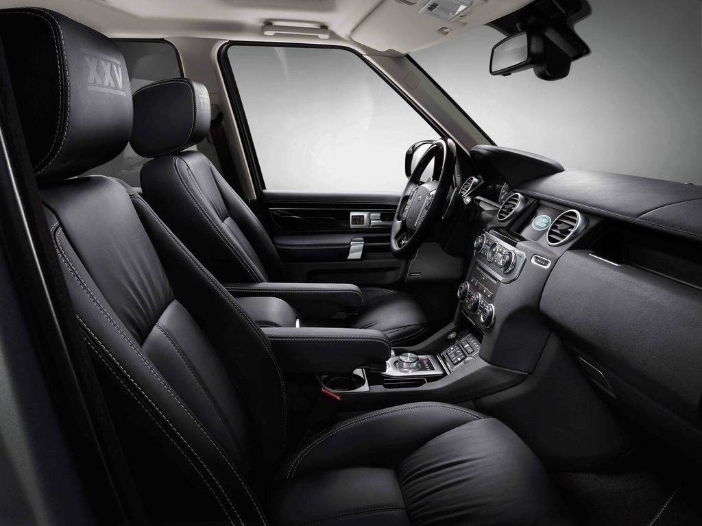 Das Innenleben des Land Rover Discovery XXV