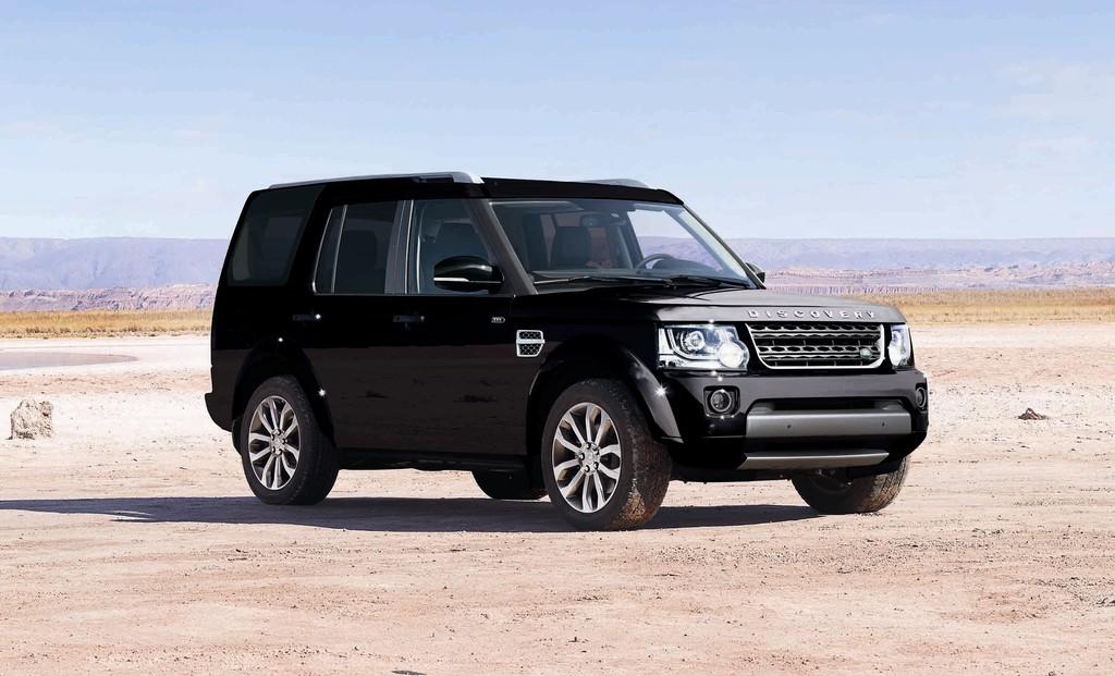 Land Rover Discovery XXV in der Farbe Santorini Black