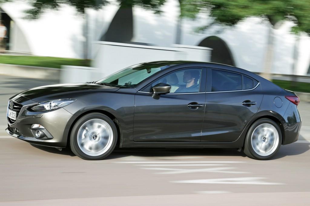 Die neue Mazda3 Limousine ist zwölf Zentimeter länger als die bekannte Schrägheckversion