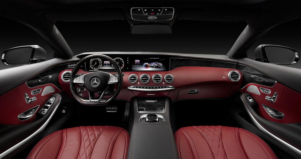 Armaturenbrett  Galerie: Mercedes-Benz S-Klasse Coupé - Armaturenbrett | Bilder und ...