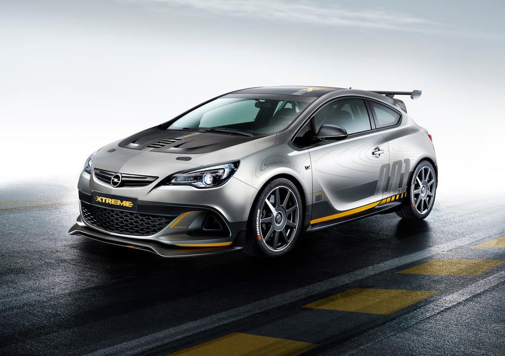 100 Kilo leichter gegenüber der Serienversion: der Opel Astra OPC Extreme