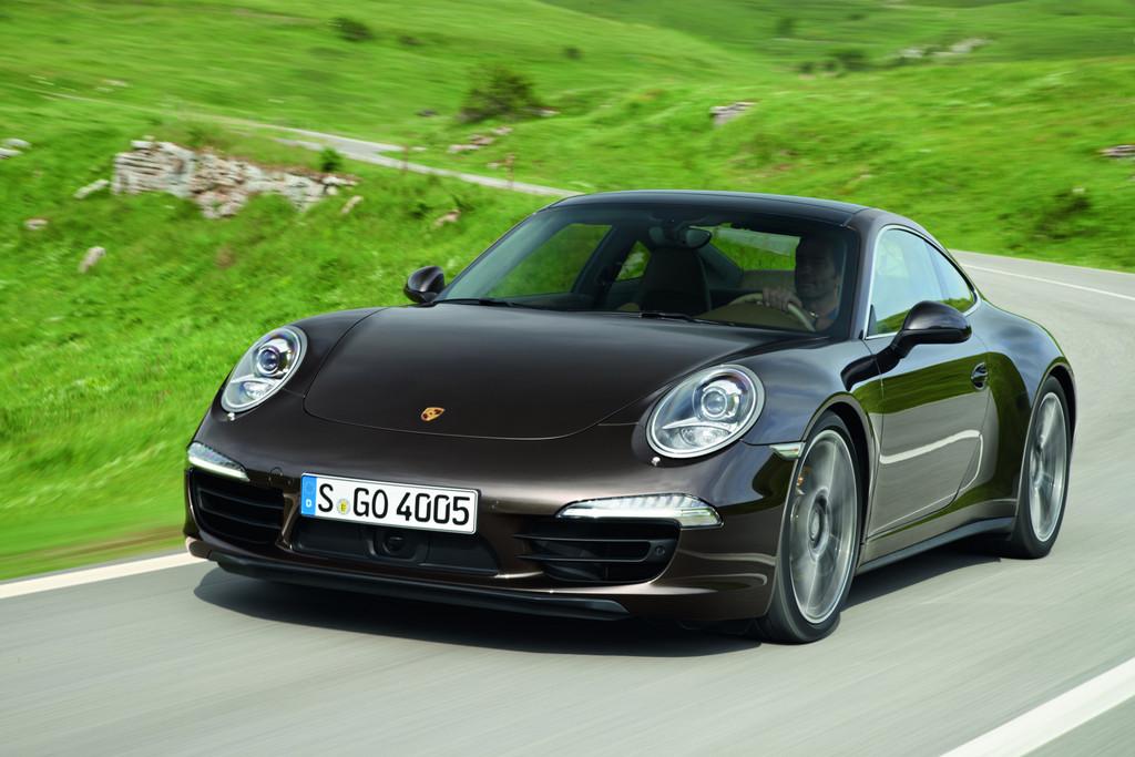Weiterhin sehr beliebt bei den Sportwagenkäufern ist der Porsche 911