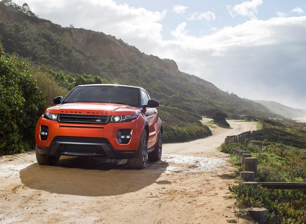 Range Rover Evoque Autobiography Dynamic in der Farbe Phoenix Orange