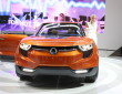 Concept Car Ssangyong XIV in orange auf der IAA 2011