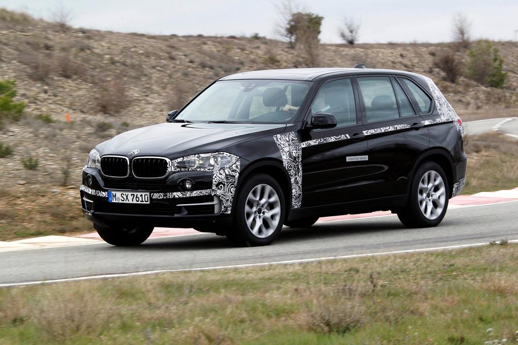 BMW X5 Plug-in Hybrid Auf dem BMW Testgelände