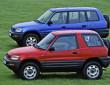 Die erste Generation des Toyota RAV4 RAV4 (áls Dreitürer und als Fünftürer 1995