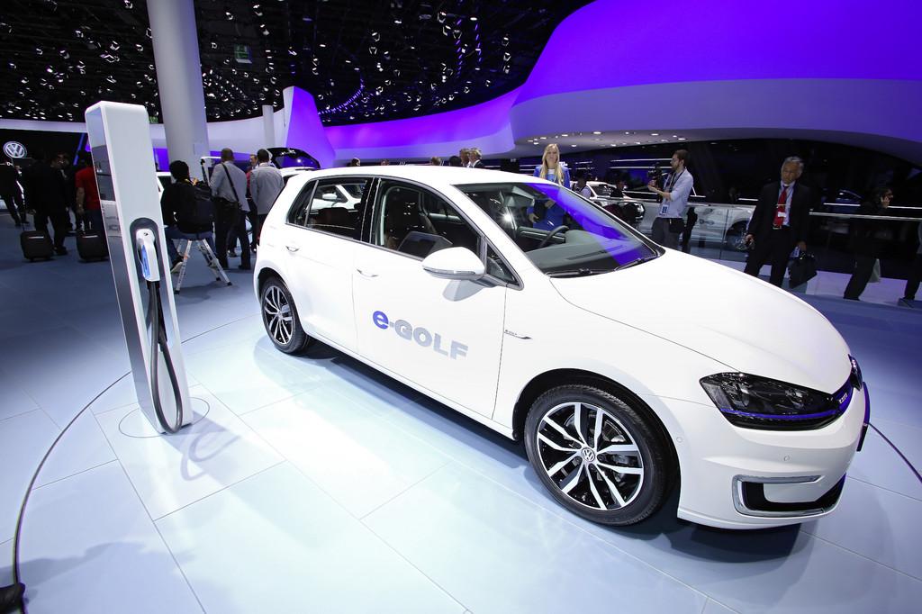 Der E-Golf ist Volkswagens zweites Elektrofahrzeug-Modell
