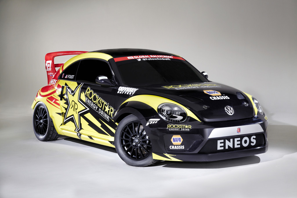 Der Volkswagen Rally-Cross-Beetle kommt mit einer Leistung von 560 PS