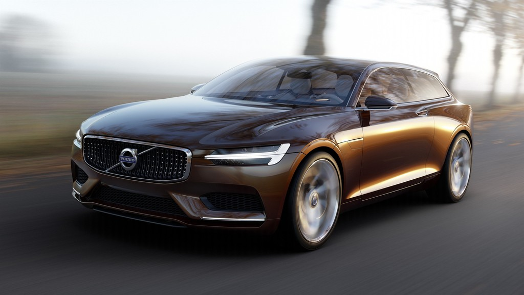 Volvo Estate Concept Car in der Frontansicht