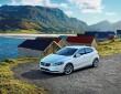 Die Volvo V40 Ocean Race Edition in Crystal Weiß-Perleffekt