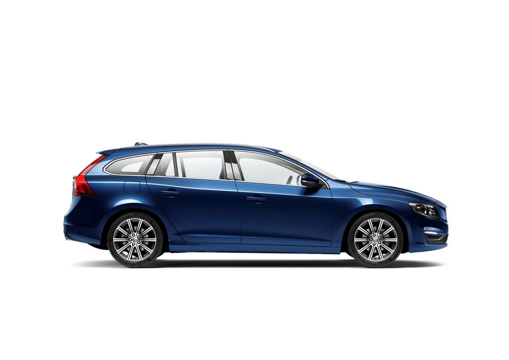 2014er Volvo V60 Ocean Race Edition in der Farbe Ocean Blau-Metallic