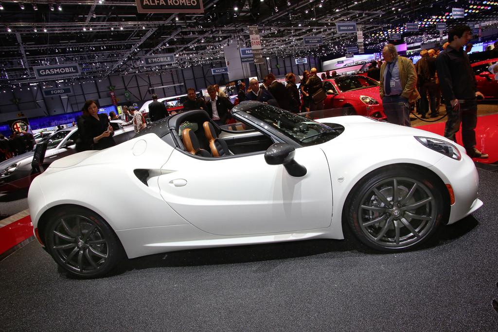 Vorstellung der Studie Alfa Romeo 4C Spider in Genf