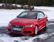 Der Kühlergrill des neuen Audi S3 Quattro Cabrio