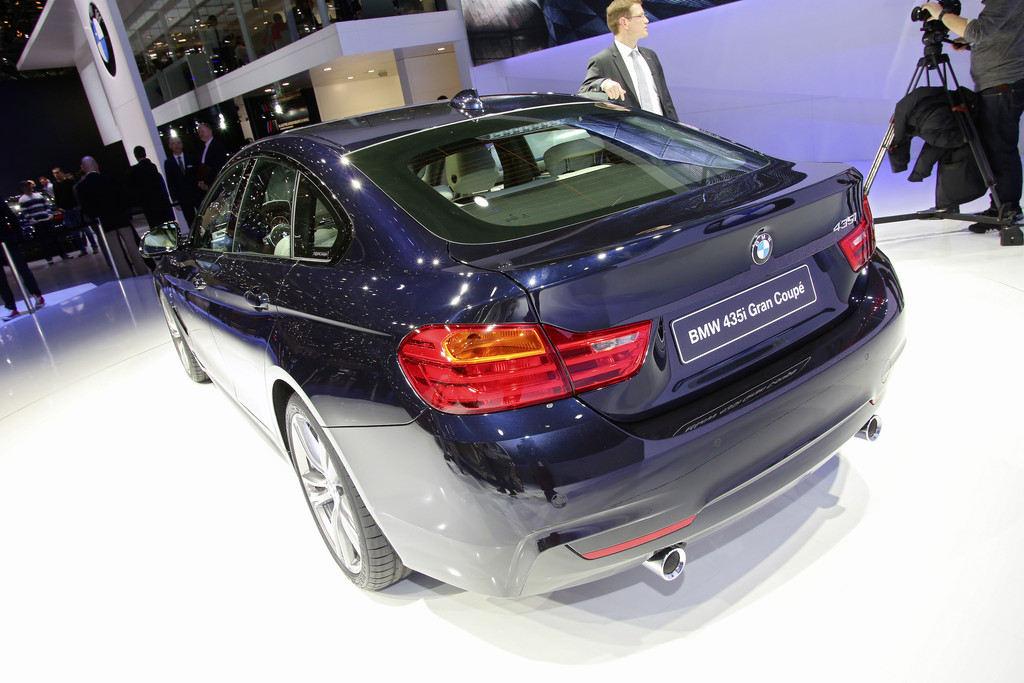 BMW 4er Gran Coupé auf dem Genfer Automobil-Salon 2014