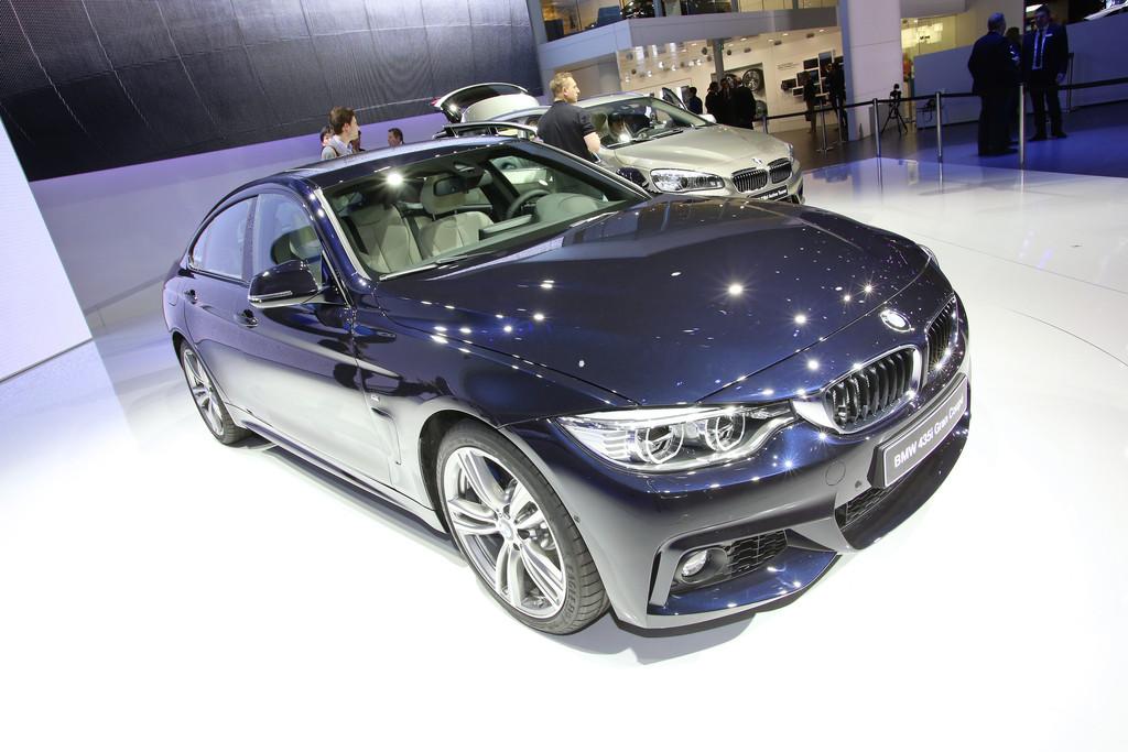 BMW 4er Gran Coupé auf 2014er Genfer Autosalon