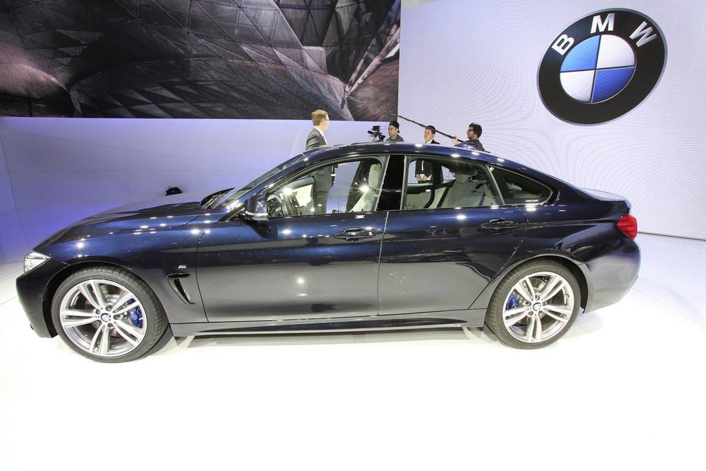 Das neue BMW 4er Gran Coupé ist 4,64 Meter lang