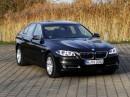 Außenaufnahme vom BMW 520 d Efficient Dynamics in schwarz