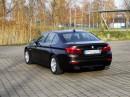 schwarzer BMW 520d Efficient Dynamics mit 184 PS