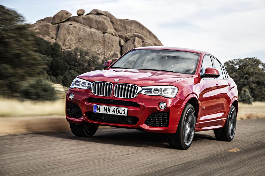 BMW zeigt erstes Bild von der Serienversion des X4