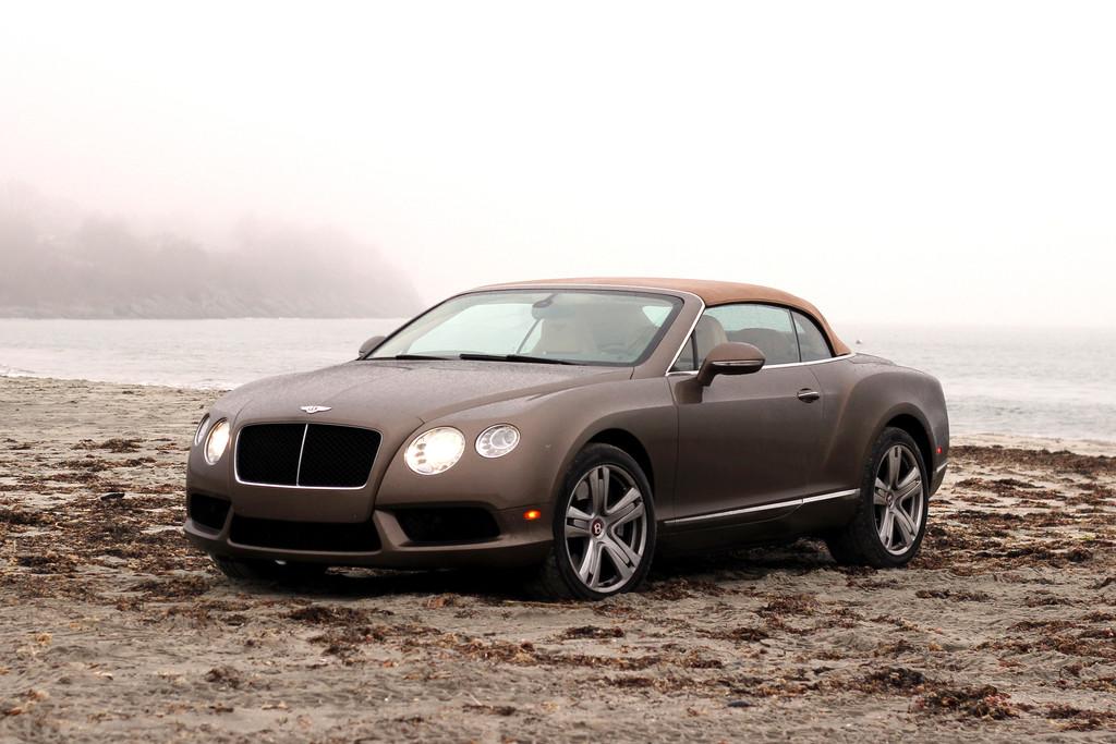 Der Bentley Continental GT V8 Convertible ist ein Cabrio mit über 500 PS