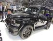 schwarzer Brabus G800 iBusiness auf Autosalon Genf 2014
