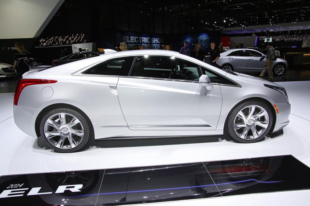 Cadillac ELR auf dem Genfer Automobil-Salon 2014