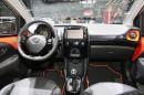 Das Interieur des Toyota Aygo 2. Generation