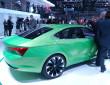 Vorstellung der Designstudie Skoda Vision C auf dem Genfer Automobilsalon 2014