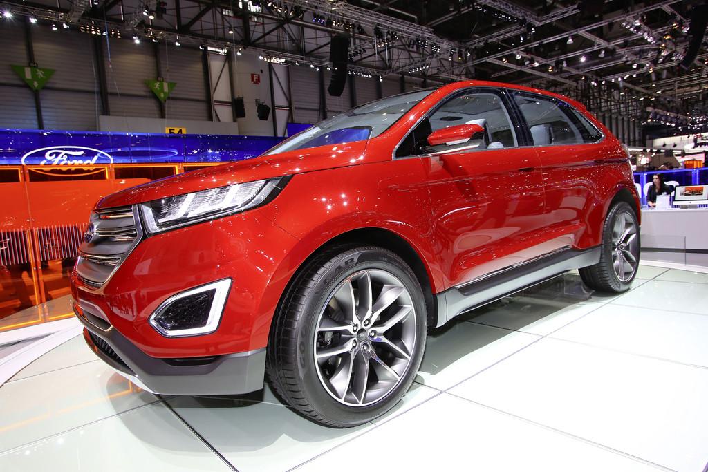Ford Edge Concept auf 2014er Genfer Autosalon