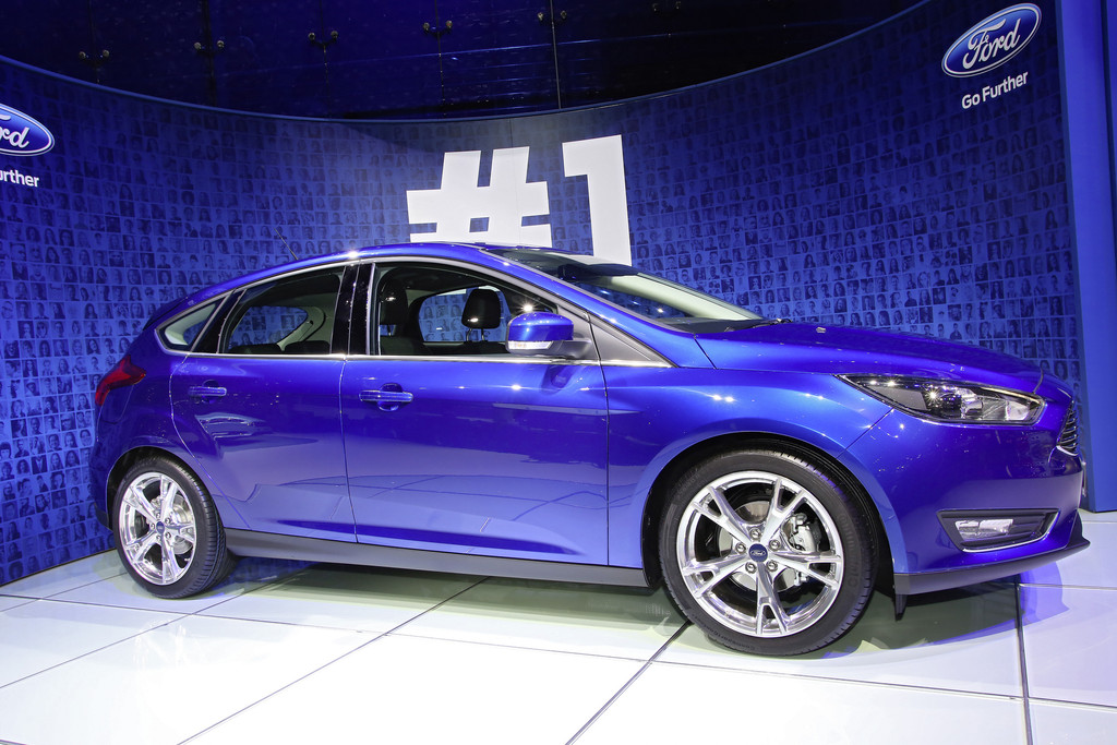 Vorstellung des neuen Ford Focus auf dem Genfer Automobilsalon 2014