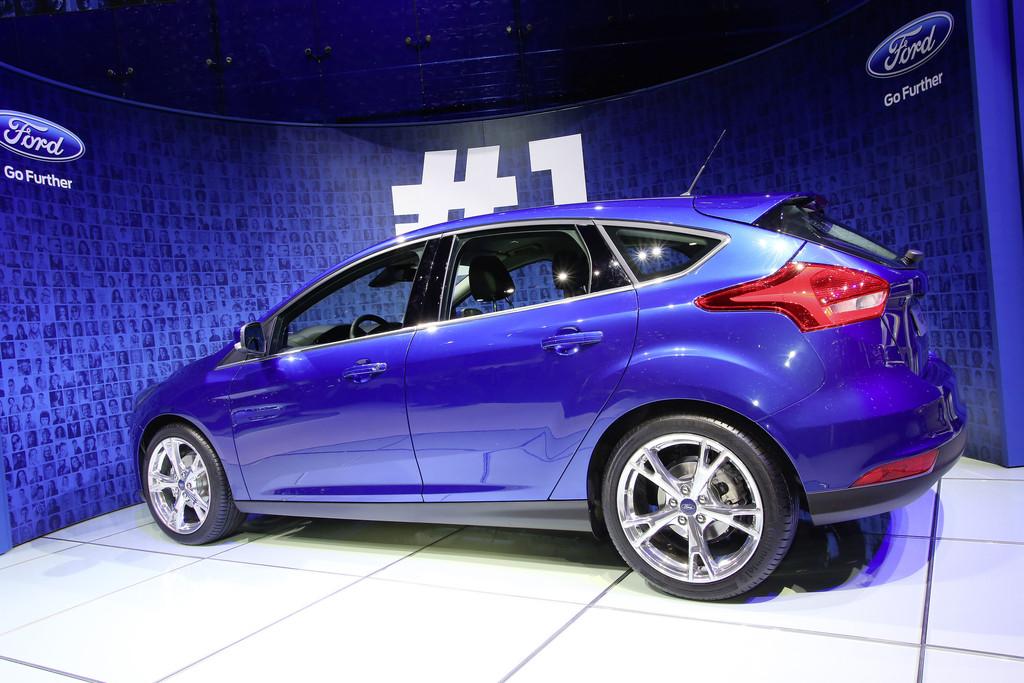 Ford präsentiert den neuen Focus auf Autosalon Genf 2014