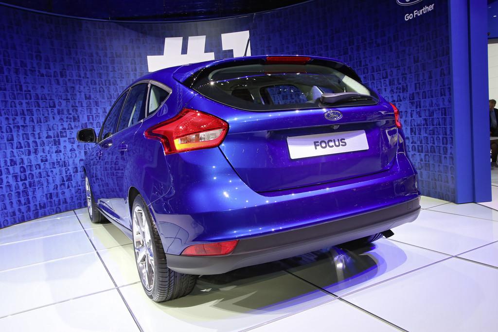 Ford Focus auf dem Genfer Automobil-Salon 2014