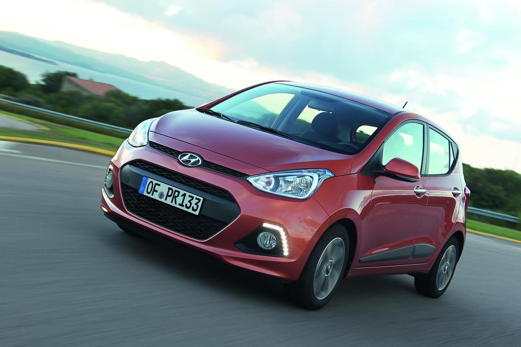Die zweite Generation des Kleinautos Hyundai i10