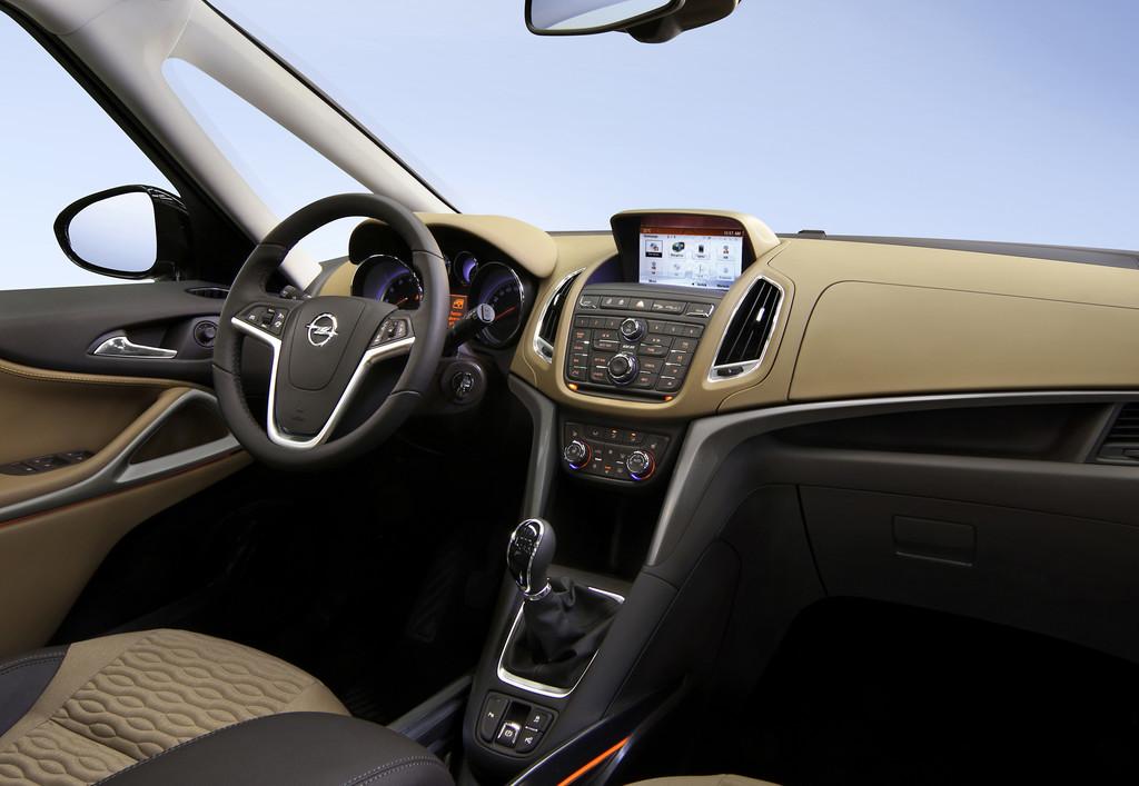 System CD 600 Intelli-Link im Opel Zafira Tourer