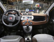 Das Interieur des Fiat Panda Cross
