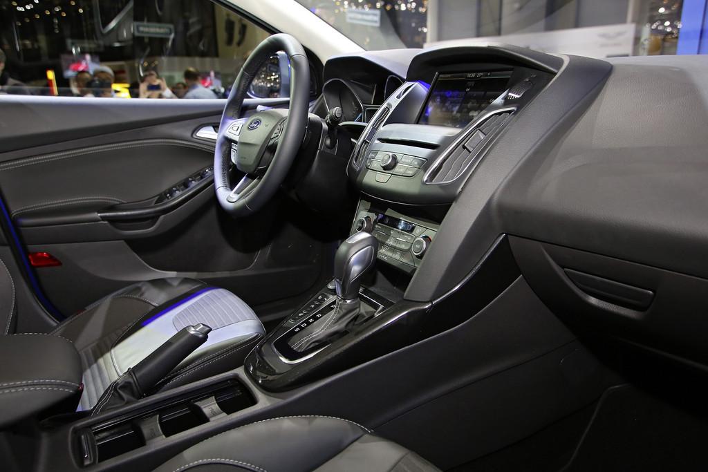 Der neue Kompaktwagen Focus mit Ford Sync an Bord