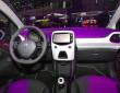 Peugeot 108 mit Display in der Mittelkonsole