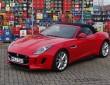 Der 495 PS starke Jaguar F-Type V8 S in rot