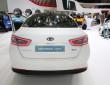 Kia präsentiert den überarbeiteten Optima Hybrid auf Autosalon Genf 2014