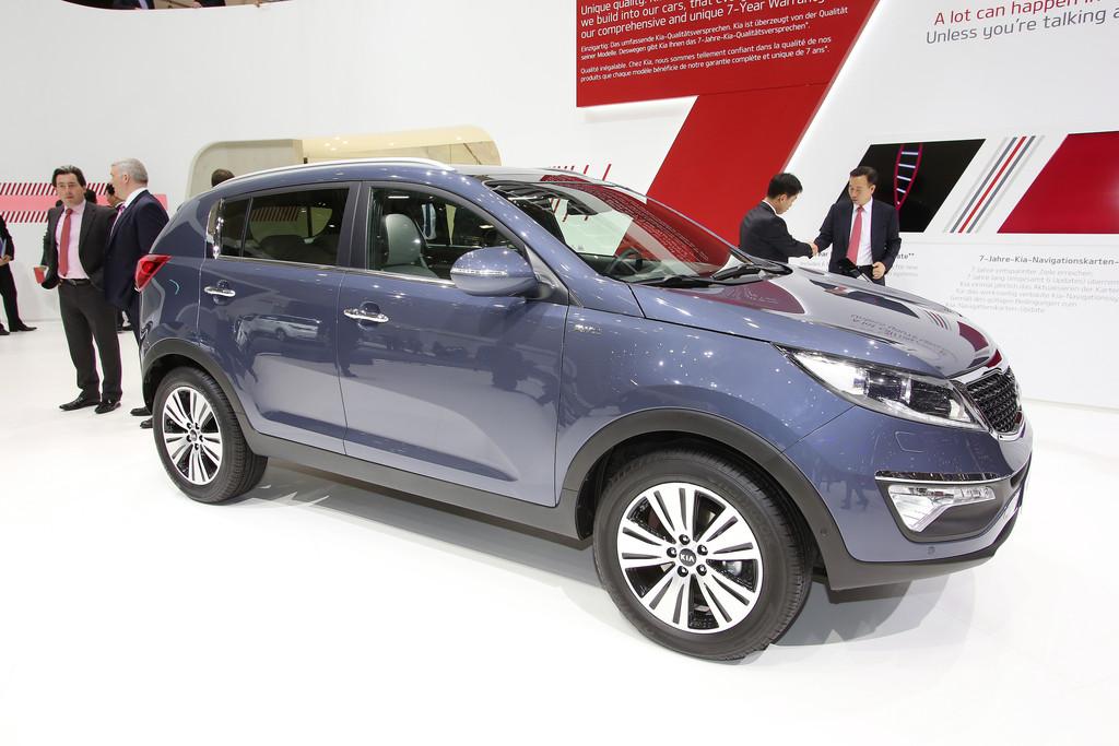 Auf der Automesse Genf zeigt Kia den neuen Sportage