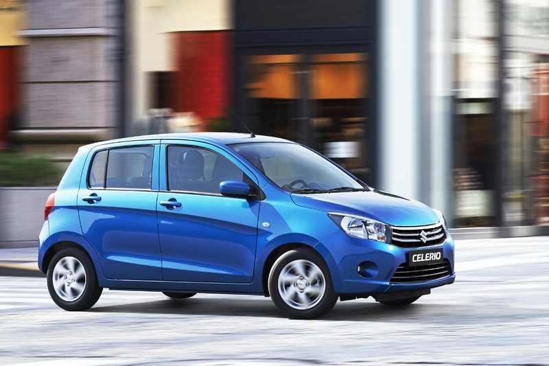 Der Kleinstwagen Suzuki Celerio wird auch für Deutschland in Thailand produziert.