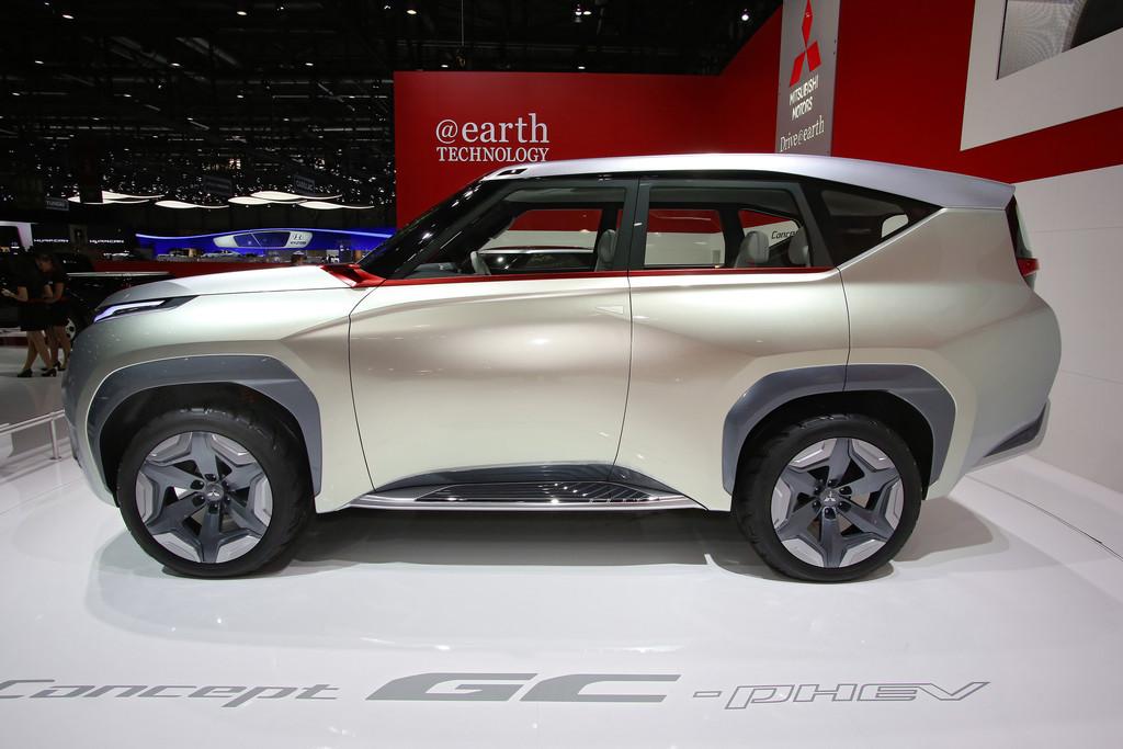 Auf der Automobilmesse Genf zeigt Mitsubishi das neue Konzeptauto GC-PHEV