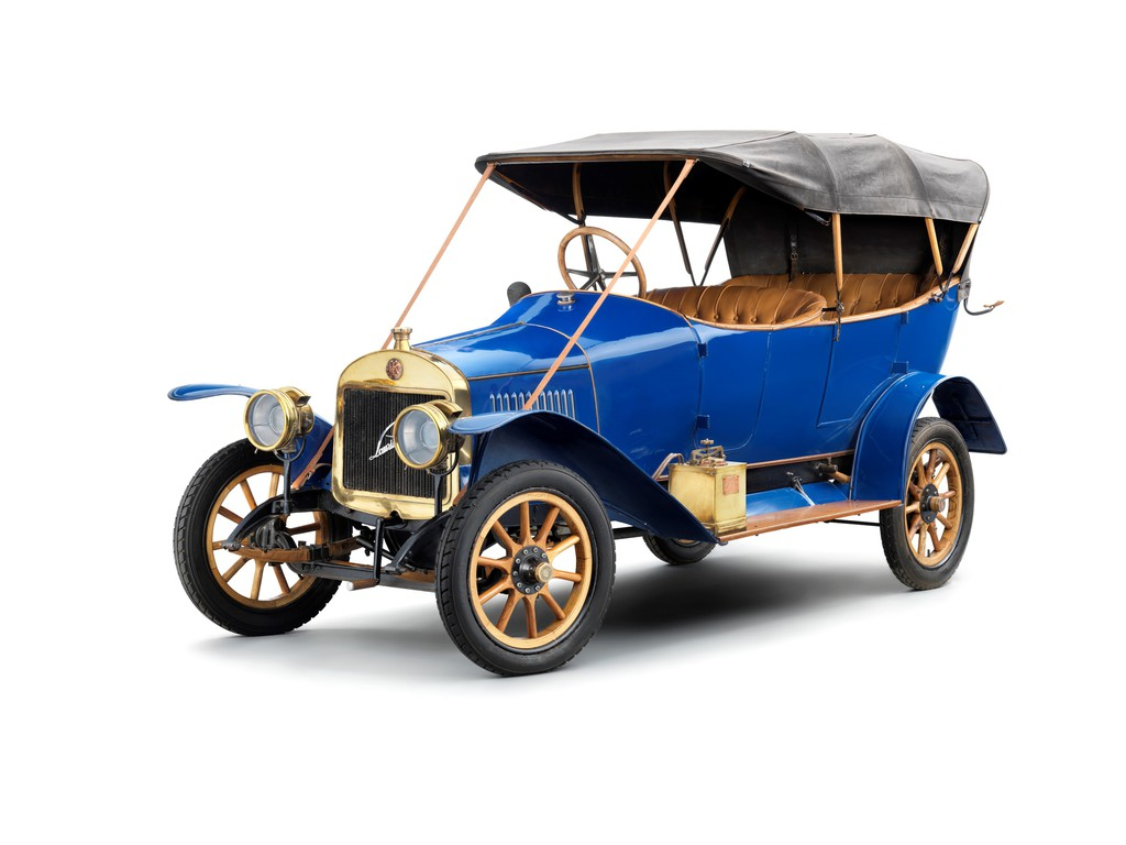 Skoda L&K Typ S aus dem Jahre 1911 in blau