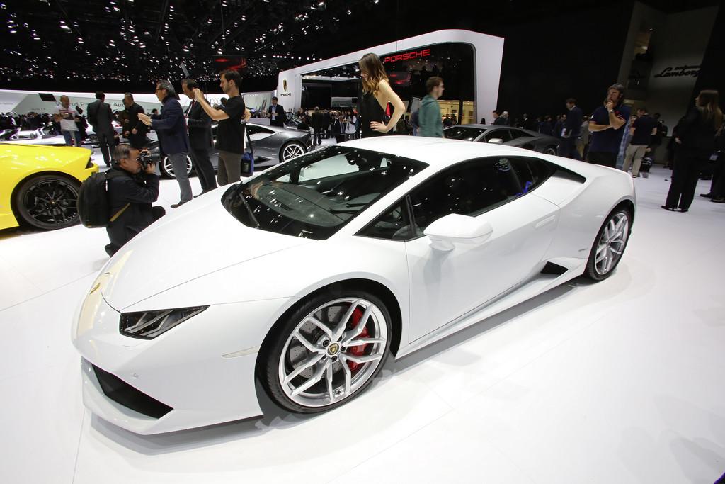 Lamborghini Huracan auf 2014er Genfer Autosalon
