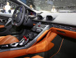 Das Interieur des Supersportlers Lamborghini Huracan